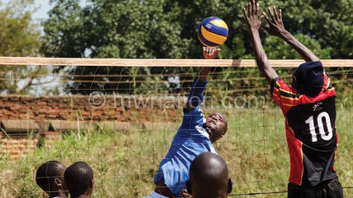 Maula Prison Inmates (in black) in action in the league
