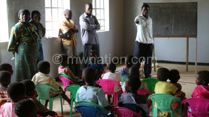 Organised and well resourced ECD classes like these are scarce in Chitipa