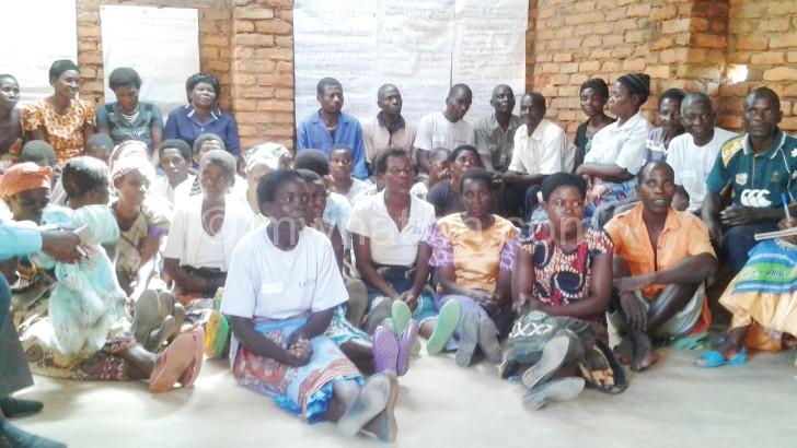 Members of Khajavo cooperative