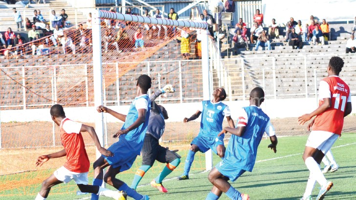 Karonga captured in action against MTV Max Bullets last Saturday