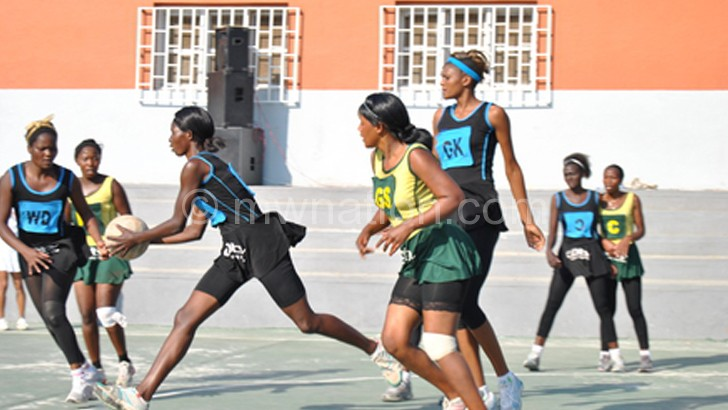 Teams in action in this year's Airtel Money  Netball Championship