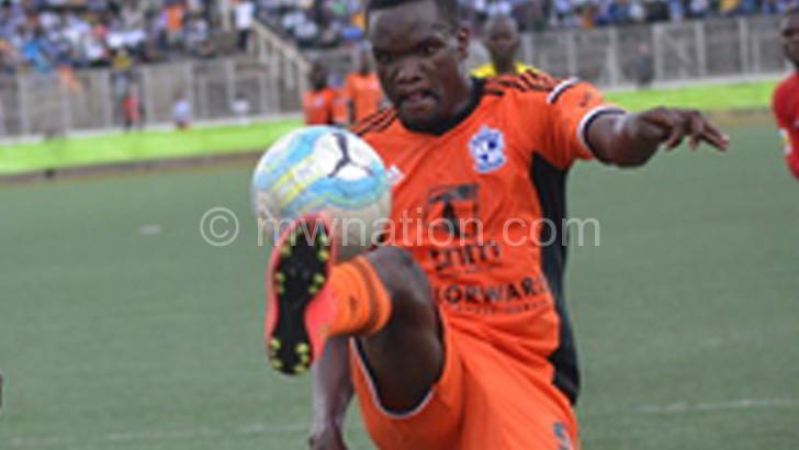 Full of suprises: Wadabwa celebrates his third goal