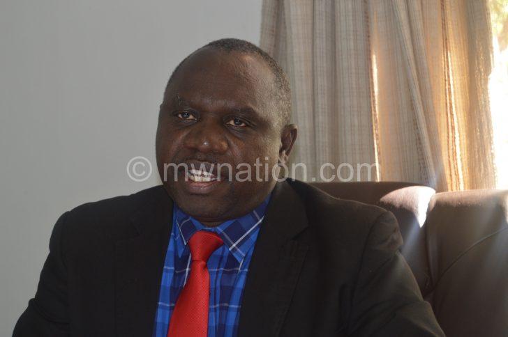 Acting ViceChancellor Professor Emmanuel Kaunda