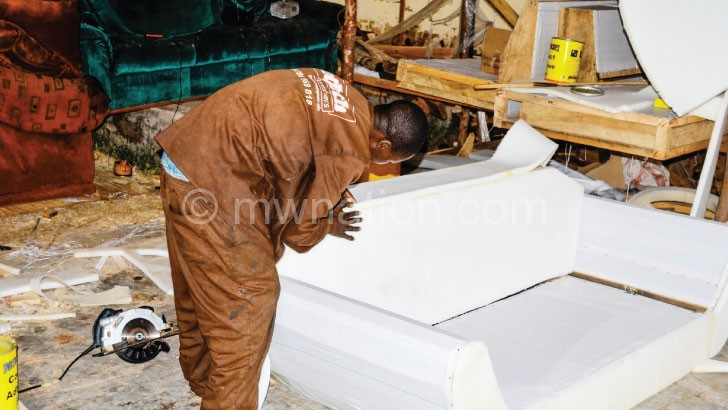 Malawi continues to import furniture from China despite some Malawian firms producing quality goods