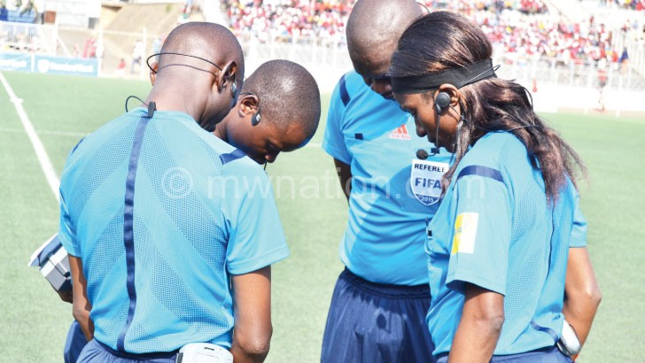 Referees can discipline a player before kick offof