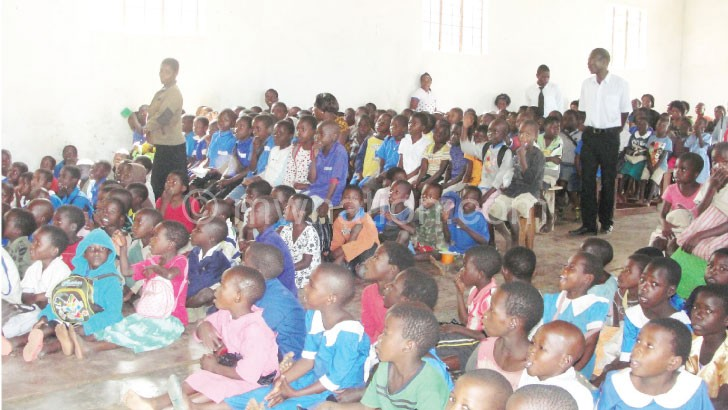 Fawema's interest is to promote the education of children like these