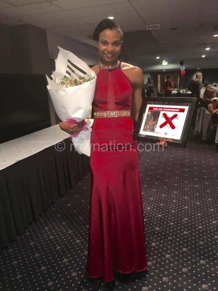 Continued to shine: Kumwenda