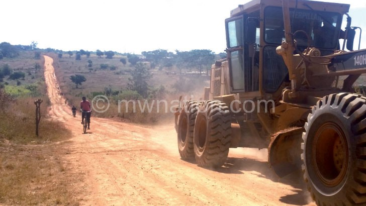 road construction   The Nation Online