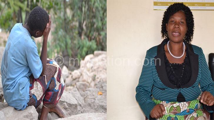 Tsogolo sakuliona: Zione (kumanzere) ndi aphunzitsi ake Mayi Nazombe-Mbewe