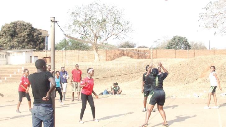 Snipers and Kamuzu Barracks women match at Lilongwe Community Centre court