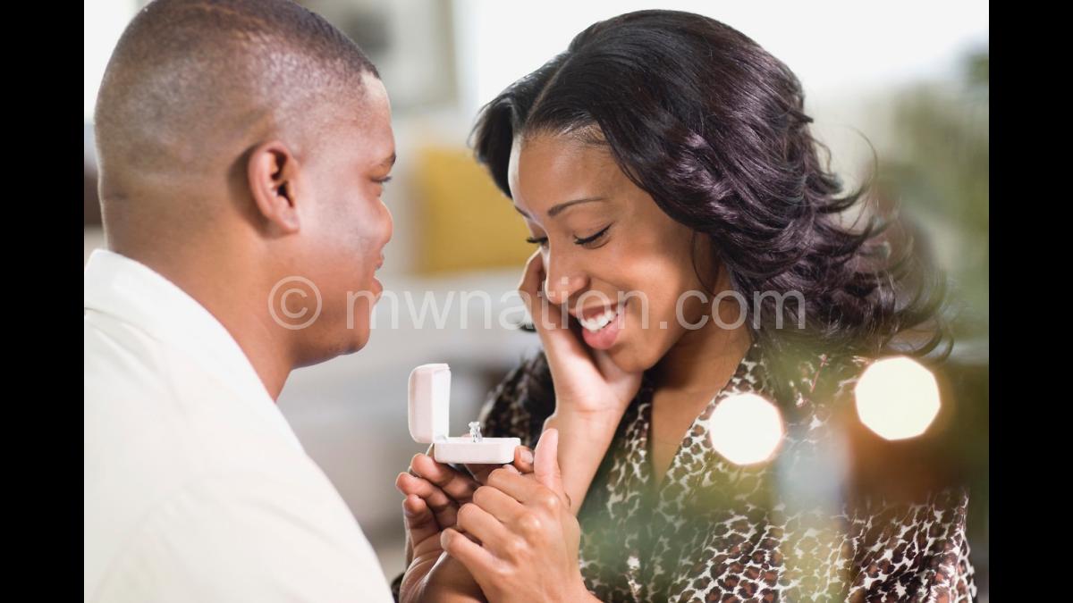 black man proposing | The Nation Online
