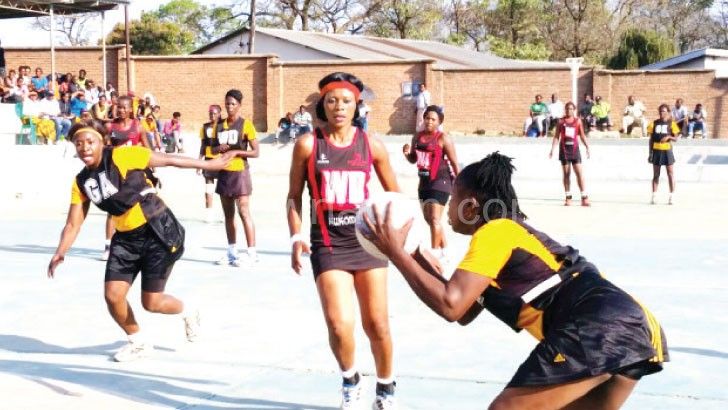 Diamonds and Tigresses in action yesterday