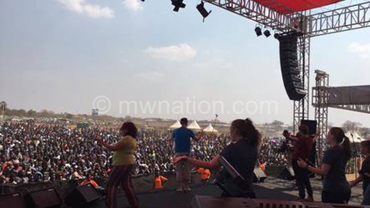 The Love Malawi Festival in session on Saturday