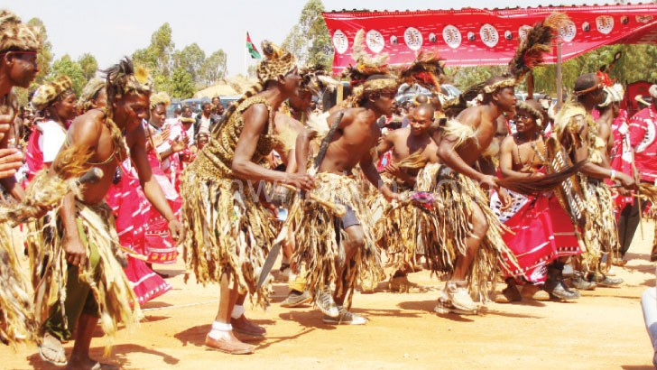Traditional dances help to preserve culture