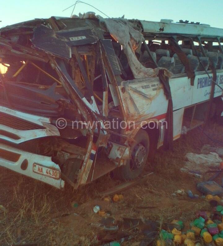 premier bus accident | The Nation Online