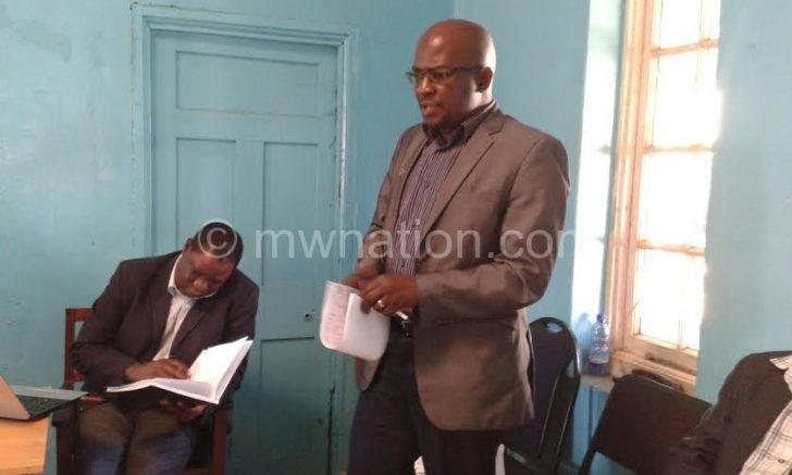 NDI deputy country director Viwemi Chavula