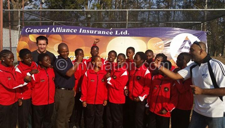 The ladies' junior cricket team lost all three games