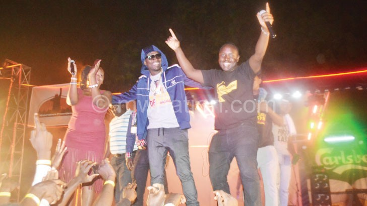 Busy Signal perfomed in Lilongwe last year