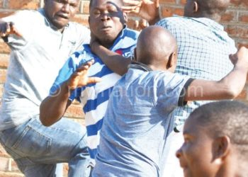 Ugly scenes continue to spoil local matches