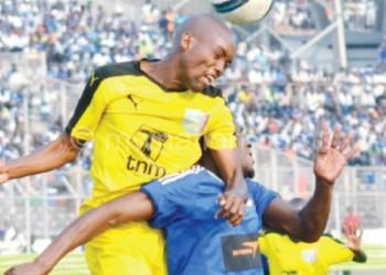 Scored both goals for KB: Nkacha