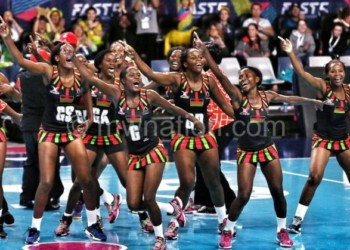 Queens celebrate a win at the previous Games