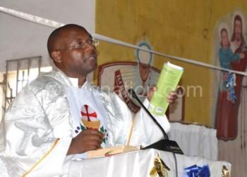 Fr Mkwezalamba:  We are celebrating the incarnation of our Lord Jesus