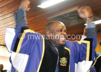Lilongwe City Mayor Desmond Bikoko