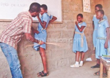 Corporal punishment is rampant in schools