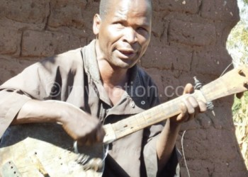 Solo-ful  act: Zembeni has been singing alone since the death of his wife