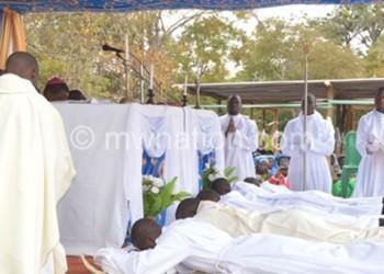 A previous ordination ceremony