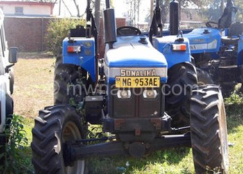 Some of the tractors that were bought with the loan