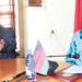 Dzonzi and Dausi addressing the media yesterday