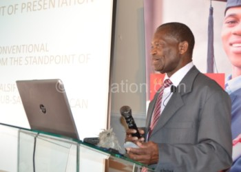Chipeta: African Governments need to model their economies based our cultural and situational values and principles.