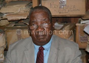 To be honoured: D.D Phiri