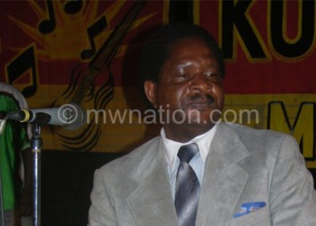 Kwilimbe drumming during a music promotion event