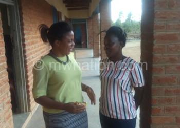 Agents of change: Zawanda (L) and Mtalika