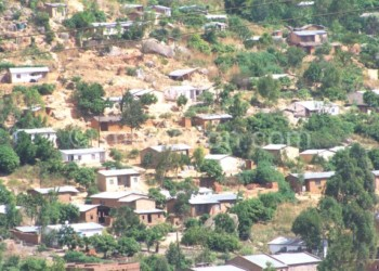 Soche Hill is one of the major illegal settlements in Malawi