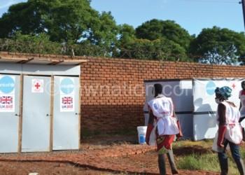 Health workers at work at Bwaila Cholera Camp last year