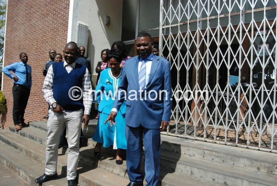 Chaponda jai banda court1   The Nation Online