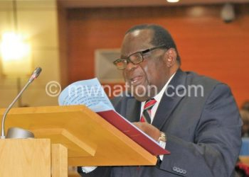 Gondwe: There is loss of revenue
