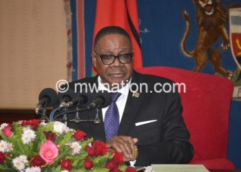 Mutharika: PAC has disappointed us