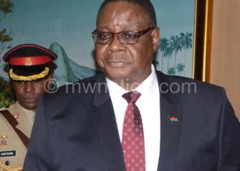 Exercised constitutional mandate: Mutharika