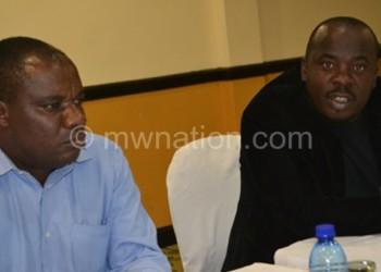 Chiwaula (L) and Chimwendo Banda
