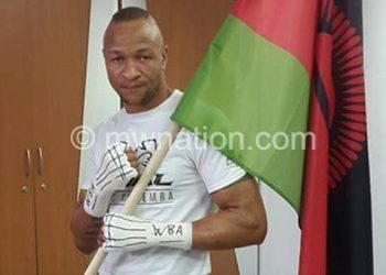 Chilemba: I am continuing with my workouts