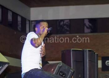 Malceba on stage