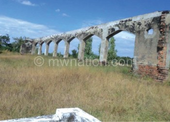 Remains of Bondo Mosque in Nkhotakota, a potential site for cultural heritage tourism