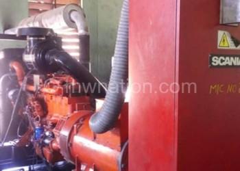 One of the generators on Likoma Island
