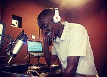 A deejay presenting a popular show Raggae Jamming Malawi