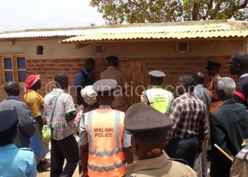 Chingaipe officially opens Njakwa Community Victim Support Unit