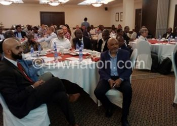 A cross-section of participants following proceedings at the launch